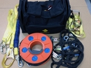 BARGE ROPE FALL PROTECTION SYSTEM