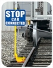 Rail Safety Signs & Holders