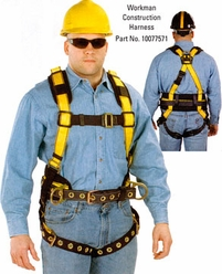 Workman Harness 3D Rings, Back & Shoulder Pads, Tool Belt