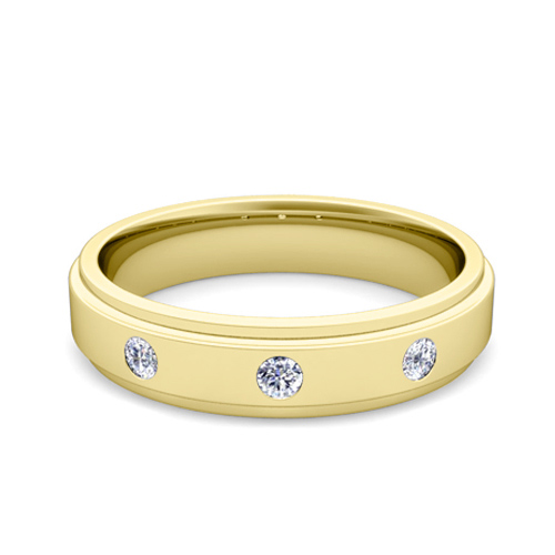 Order Now Ships On Friday 1 19Order In 5 Business Days 3 Stone Diamond Mens Wedding