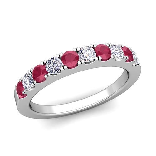 order now ships on tuesday 627order now ships in 5 business days - Ruby Wedding Ring Sets