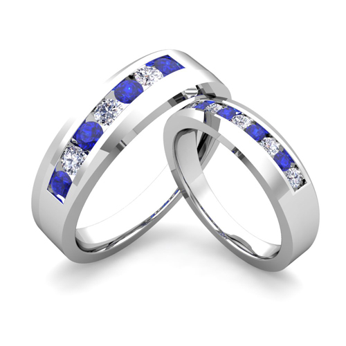 Wedding Bands Diamond Wedding Bands For Him And Her