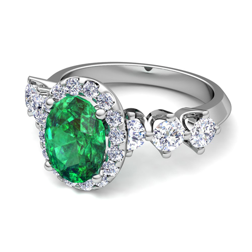 Design Your Engagement Ring With Natural Gemstones And Diamonds