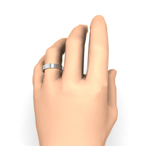 Order Now Ships On Monday 1 8Order In 5 Business Days Flat Comfort Fit Wedding Band
