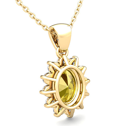 yellow sapphire necklace - photo #16