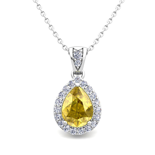 yellow sapphire necklace - photo #33