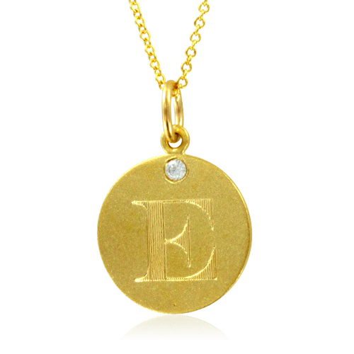order now ships on thursday 54order now ships in 4 business days initial necklace letter e