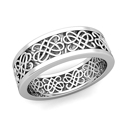 Celtic Wedding Band As His Ring Order Now Ships On Tuesday 1 9Order In 5 Business Days