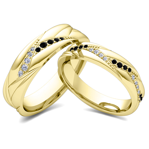 Him And Hers Matching Promise Rings