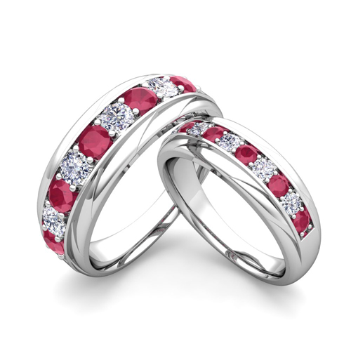 order now ships on monday 626order now ships in 5 business days - Ruby Wedding Rings