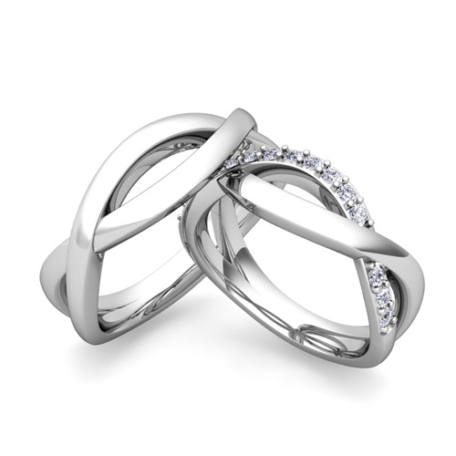 matching-wedding-band-in-platinum-diamond-infinity-wedding-rings-28 ...