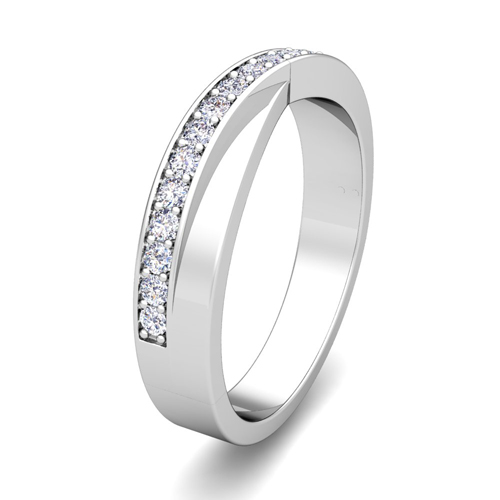 order now ships on monday 626order now ships in 5 business days matching wedding bands infinity diamond wedding ring set - Infinity Wedding Ring Set