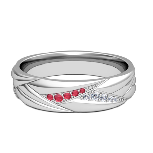 Mens Ruby Wedding Rings