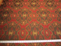 1 1/2 yards of ikat tapestry upholstery fabric