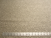 1 1/4 yards animal spot chenille upholstery fabric
