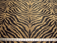 1 1/4 yards tiger stripe upholstery fabric