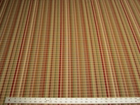 1 3/4 yards checked stripe jaquard upholstery fabric