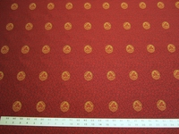 1 3/4 yards Robert Allen Ashburton medallion upholstery fabric
