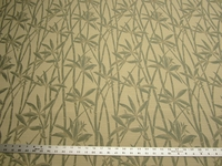 1 3/8 yards of bamboo tapestry upholstery fabric