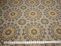 1 5/8 yards of Roman Circle medallion upholstery fabric