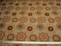 1 yard of Chanterelle medallion patterned tapestry upholstery fabric