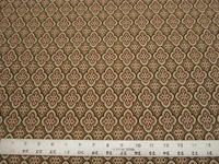 2 1/2 yards of geometric patterned upholstery fabric