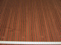 2 1/4 yards chenille stripe upholstery fabric