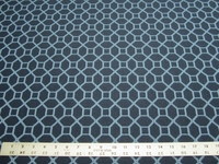 2 1/4 yards of baltic blue heavy geometric upholstery fabric