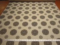 2 1/4 yards of Palazzo medallion patterned upholstery fabric