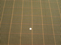 2 1/4 yards of Pembrook Java houndstooth upholstery fabric