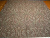 2 1/4 yards of rich paisley pattern upholstery fabric