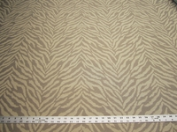 2 1/4 yards of tiger stripe upholstery fabric