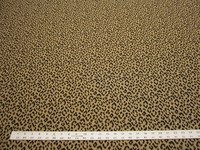 2 1/8 yards leopard spots jacquard upholstery fabric