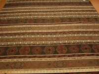 2 1/8 yards of Aztec/Southwest design upholstery fabric