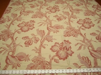 2 1/8 yards of jacobean tapestry upholstery fabric