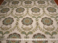 2 1/8 yards of Swavelle Mill Creek Barossa nordic ice upholstery fabric