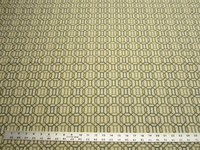 2 1/8 yards of textured geometric upholstery fabric