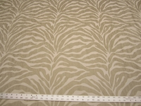 2 3/4 yards Caris Tiger Stripe Chenille Mix Upholstery Fabric