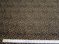 2 3/4 yards of animal skin chenille upholstery fabric