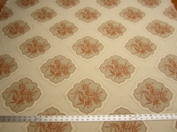 2 3/4 yards of Olive Grove color pumpkin by Stroheim upholstery fabric