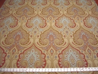 2 3/4 yards of pretty paisley upholstery fabric