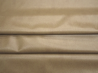 2 3/4 yards of tan ostrich pattern artificial leather upholstery fabric