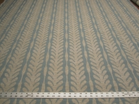 2 3/4 yd Textured Leaf Stripe Upholstery Fabric