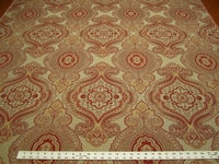 2 3/8 yards of rich paisley upholstery fabric r1904