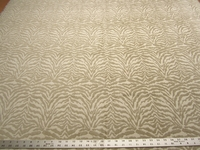 2 3/8 yards tiger stripe chenille upholstery fabric