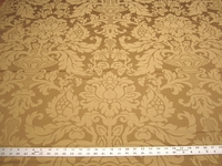 2 5/8 yards of gold damask upholstery fabric