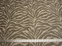 2 yards Caris Taupe Stripe Chenille mix Upholstery Fabric