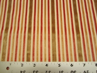 2 yds Cut Stripe Saffron cut velvet upholstery fabric from Robert Allen