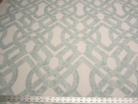 3 1/2 yards of Curves Seaglass upholstery fabric by P. Kaufmann