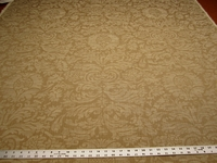 3 1/2 yards of Folia Austell Damask parchment upholstery fabric